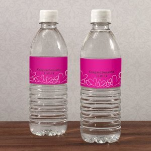Contempo Hearts Water Bottle Labels (Set of 10) image