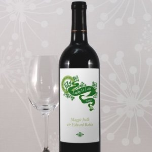 Luck of the Irish Wine Bottle Labels (Set of 8) image