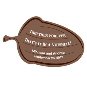 Together Forever Personalized Acorn Sticker image