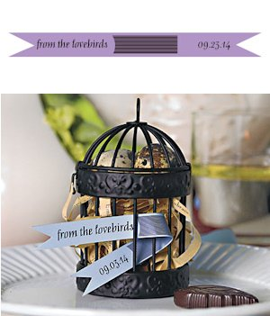 Mini Personalized Paper Streamers - Set of 16 image