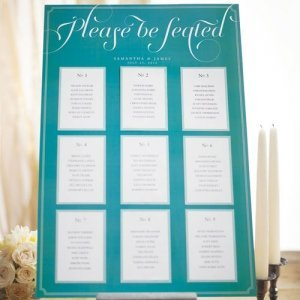 Personalized Expressions Seating Chart Kit image