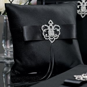 Beverly Clark Crowned Jewel Ring Pillow (3 Colors) image