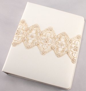 Beverly Clark Collection Memory Book (White or Ivory) image