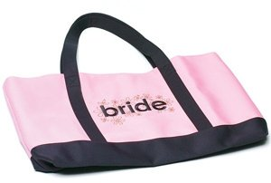 'Bride' Two Tone Tote Bag image