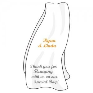 Personalized Beach Towel Stickers image