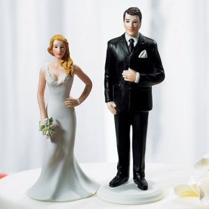 The Curvy Bride & Tall Groom Mix and Match Figurines image