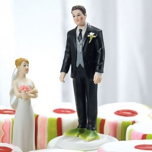 Almost Perfect...Frog Prince Groom Mix and Match Cake Topper image