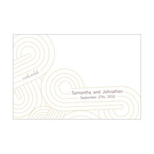 Personalized Rock Solid Zen Inspired Place Cards image