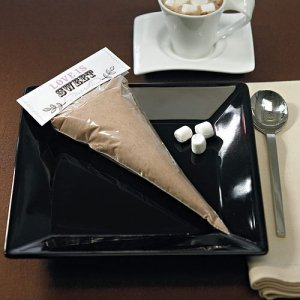 Clear Cellophane Cone Shaped Bags (100 per pack) image