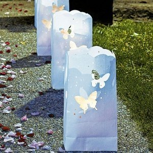 Butterfly Die Cut Luminary Bags (Set of 12) image