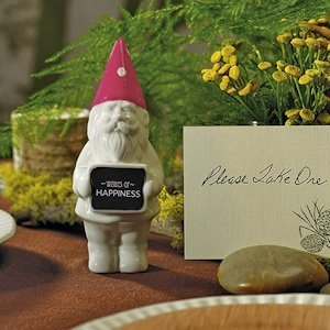 Miniature Gnome with Pink Hat (Set of 4) image