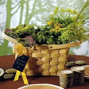 Decorative Picnic Basket - Large image