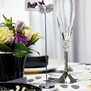 Butterfly Wedding Table Number Holders (Set of 6) image