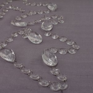 Acrylic Crystal Garland with Prism Drops image