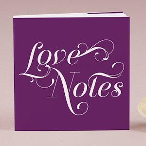 'Love Notes' Notepad Favors (Set of 12 - 16 Colors) image