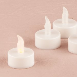 Flameless Battery Operated Tealights (Set of 6) image