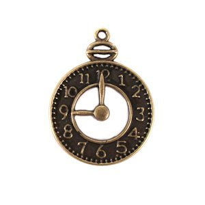 Clock Charms (Set of 12) image