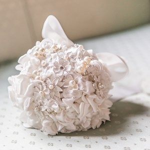 Couture Brooch Bridal Bouquet image