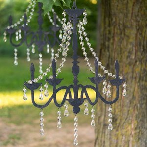Chandelier Silhouette Wall Decoration image