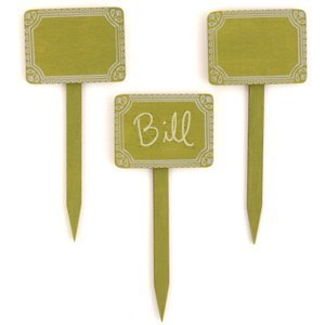 Miniature Wooden Decorative Stakes (Set of 12) image