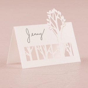 Woodland Pretty Laser Embossed Place Cards (Set of 20) image