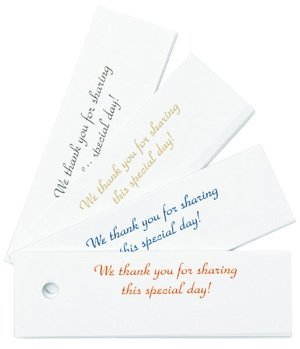 Classic Thank You Hang Tags - Set of 25 image