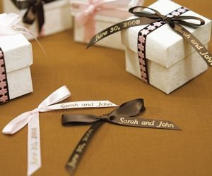 Personalized Ribbon For Bows (4 Sizes - 31 Colors) image