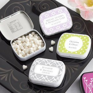 Damask Personalized Mint Tins (Many Designs) image