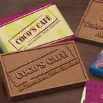 Custom Chocolate Bar and Wrapper (2 x 3)