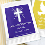 Personalized Religious Cosmopolitan Drink Mix Favors