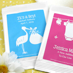 Personalized Baby Shower Margarita Mix Favors
