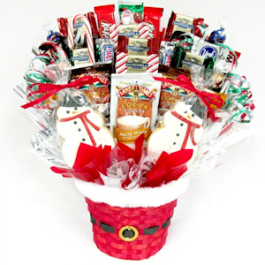 Ho Ho Ho Holiday Candy Bouquet imagerjs