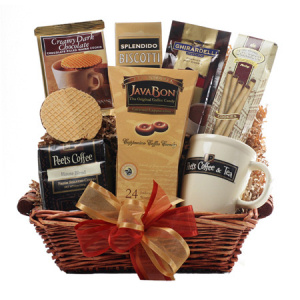 Peet's House Coffee Gift Basket imagerjs