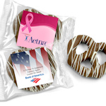 Custom Corporate Gourmet Chocolate Pretzel Favors
