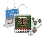 Custom Corporate Hershey's Kisses Gift Tote