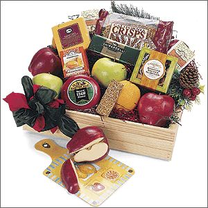 Fabulous Fruit Gift Basket data-pin-no-hover=
