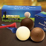 Custom Boxed Chocolate Golf Balls