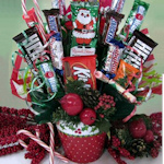 Glad Tidings Candy Bouquet
