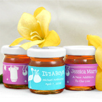 Personalized Baby Shower Honey Favors (Many Designs)