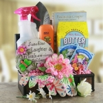 Gardening for Mom Gift Basket