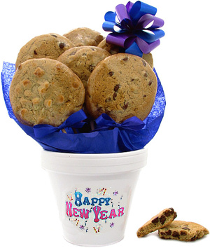 New Year Cookie Pot image
