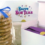 New Year Cookie Gift Box
