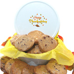 Thanksgiving Cookie Gift Tin