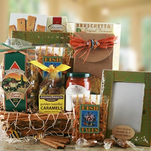 'Will Fish for Food' Gift Basket imagerjs