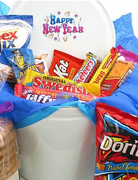 New Year Cookie & Goodie Gift Tin image