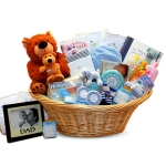 Deluxe Precious Baby Gift Basket