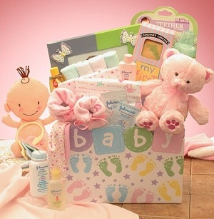 Baby Pitter Patter Gift Box (Pink or Blue) imagerjs