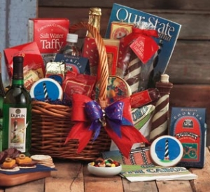 Carolina Beacon Gift Basket data-pin-no-hover=