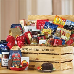 Best of North Carolina Gift Crate data-pin-no-hover=
