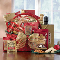 Holiday Greetings Basket image
